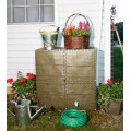 Brown Build-a-Barrel (Rain Barrel Tank)