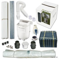 50 Gallon Build-a-Barrel Tank and Diverter Kit| GREY