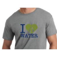 "RainReserve ""I Heart Water"" Mens Shirt"