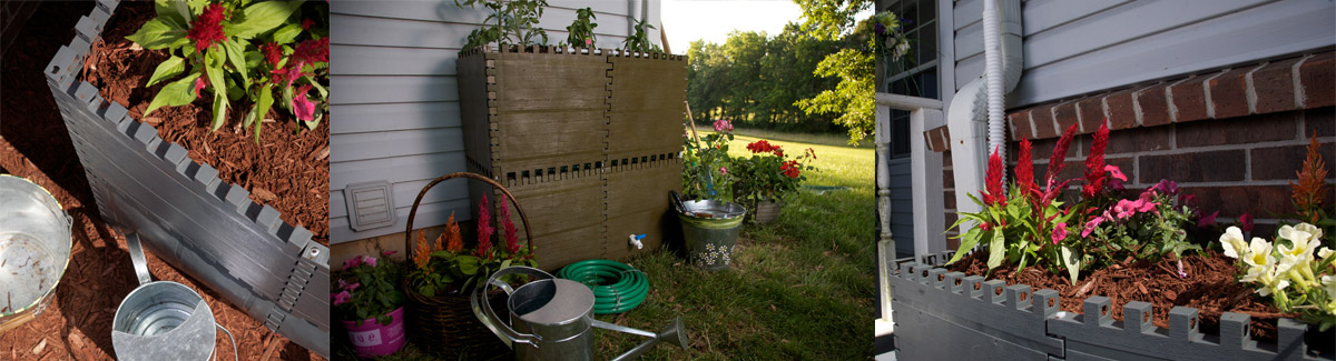 Etonnant The Container Garden System Uses The Same Interlinking Panel Design Of The  Build A Barrel. Container Garden Panels Are Stacked On Top Of A Build A Barrel  ...